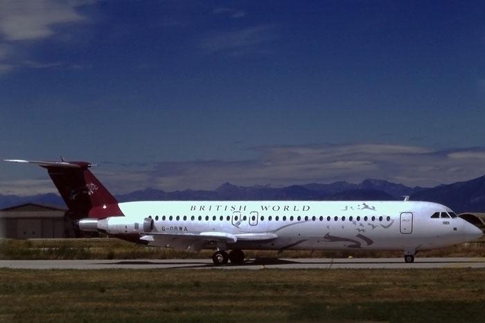 G-OBWA  BAe111-518FG  232  British World Airlines  @ Aeroporto di Verona © Piti Spotter Club Verona