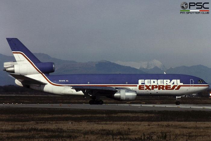 N314FE DC-10-30F 48312/442 FedEx Express - Federal Express © Piti Spotter Club Verona