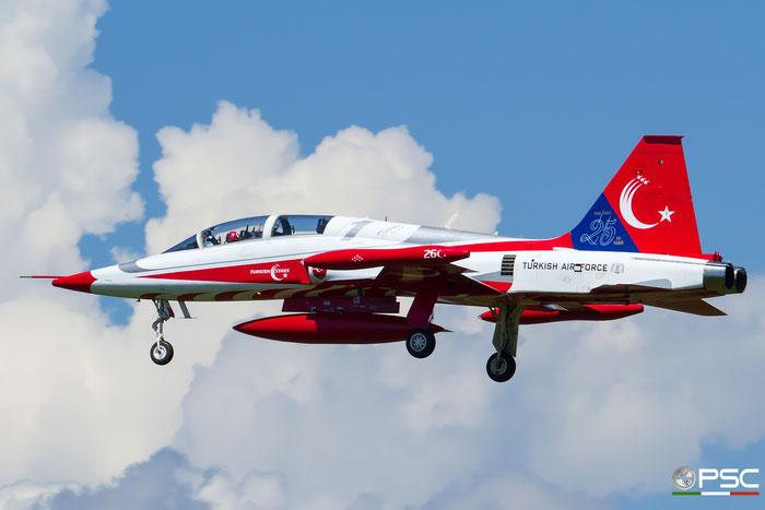 1 - Turkish Star - NF-5A Freedom Fighter © Piti Spotter Club Verona
