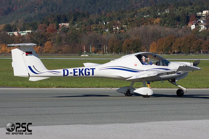 D-EKGT HOAC DV-20 Katana DV20 20104 Flugsportzentrum Tirol@ Innsbruck Airport 26.10.2013 © Piti Spotter Club Verona