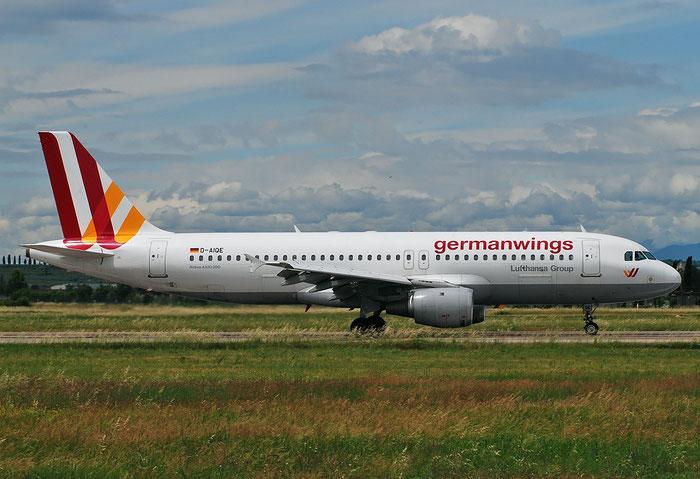 D-AIQE A320-211 209 Germanwings @ Aeroporto di Verona 14.05.2018  © Piti Spotter Club Verona