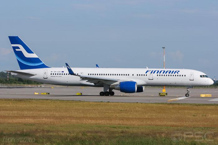 OH-LBX B757-2Q8 29382/1010 Finnair @ Helsinki Airport 2008 © Piti Spotter Club Verona