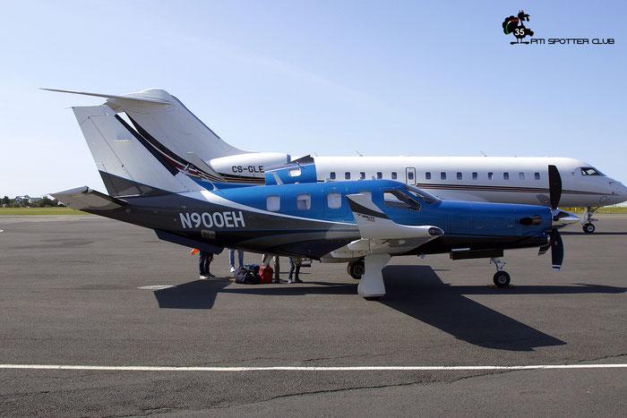 N900EH  TBM-900  1082  Forbes Group LLC @ Reykjavik 08.2019 © Piti Spotter Club Verona