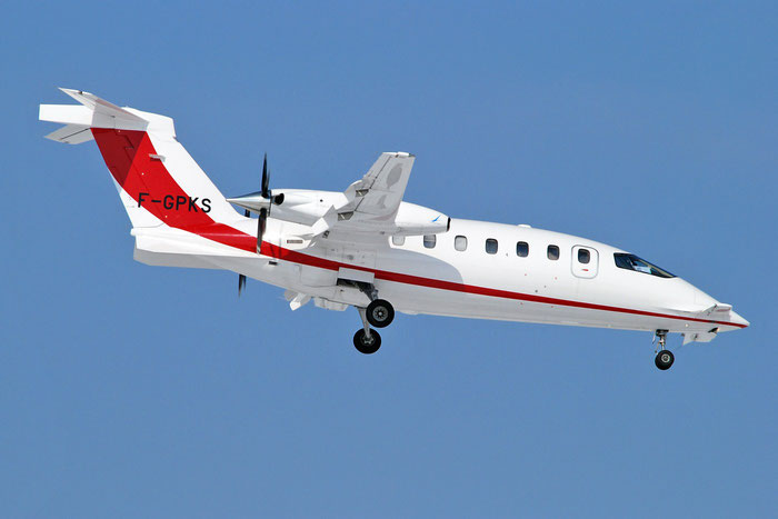F-GPKS P180 1186 Transport Air S.A. @ Aeroporto di Verona   © Piti Spotter Club Verona