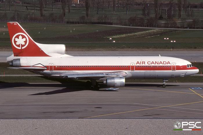 C-GAGJ L-1011-500 193H-1216 Air Canada © 2018 courtesy of Marco Ceschi - Piti Spotter Club Verona