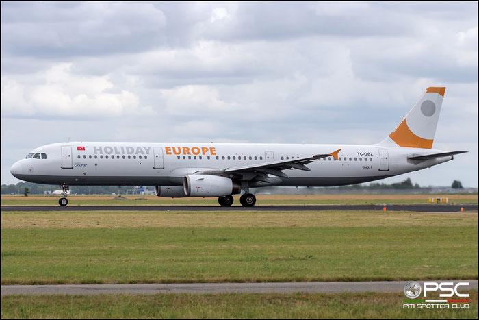 TC-OBZ  A321-231  811  Onur Air @ Amsterdam 2019 © Piti Spotter Club Verona