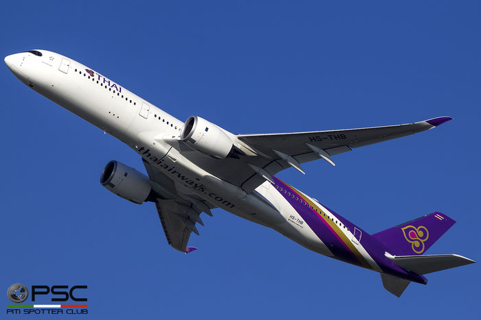 HS-TKB B777-3D7 29151/170 Thai Airways International @ Roma Fiumicino Airport 18.12.2016 © Piti Spotter Club Verona