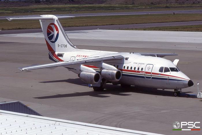 B-2706 BAe146-100 E1071 China Eastern Airlines © 2018 courtesy of Marco Ceschi - Piti Spotter Club Verona