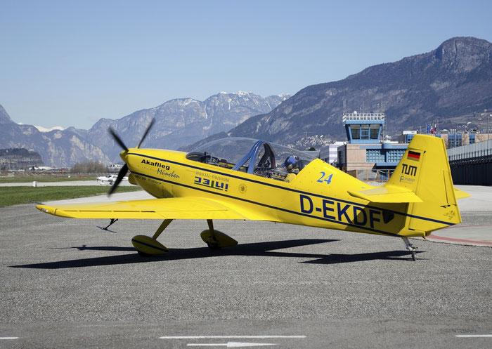 D-EKDF - Akaflieg München Mü-30 Schlacro - Private @ Aeroporto di Trento © Piti Spotter Club Verona