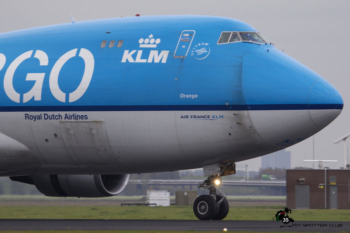 PH-CKC B747-406ERF 33696/1341 KLM Royal Dutch Airlines @ Amsterdam Airport - 24.10.2015  © Piti Spotter Club Verona