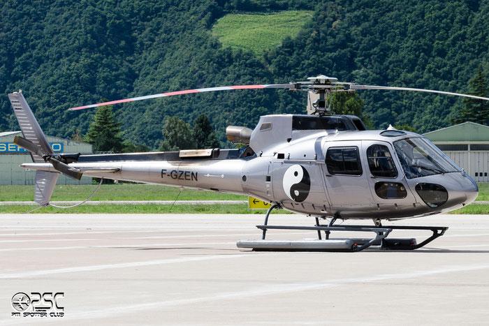 F-GZEN Private Eurocopter AS 350B-3 Ecureuil @ Aeroporto di Bolzano © Piti Spotter Club Verona