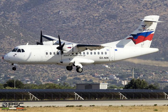 SX-NIK  ATR42-320  291  Sky Express  @ Athens 2019 © Piti Spotter Club Verona