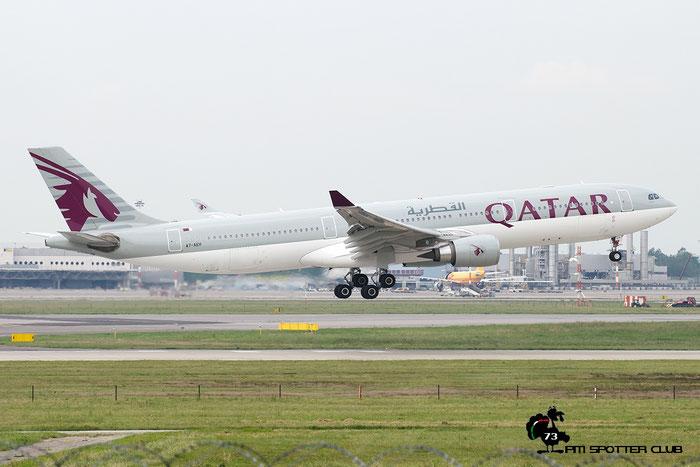 A7-AEH A330-302E 789 Qatar Airways @ Milano Malpensa Airport 18.05.2016 © Piti Spotter Club Verona