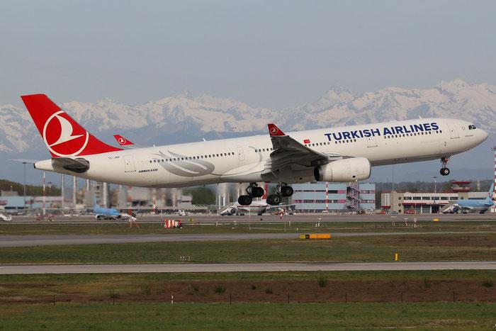 TC-JNP A330-343E 1307 Turkish Airlines - THY Türk Hava Yollari @ Milano Malpensa Airport 14.04.2015 © Piti Spotter Club Verona