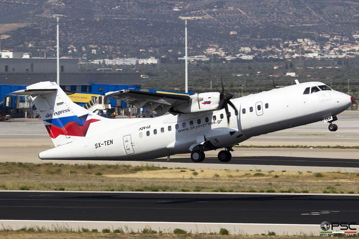 SX-TEN  ATR42-500  542  Sky Express @ Athens 2019 © Piti Spotter Club Verona