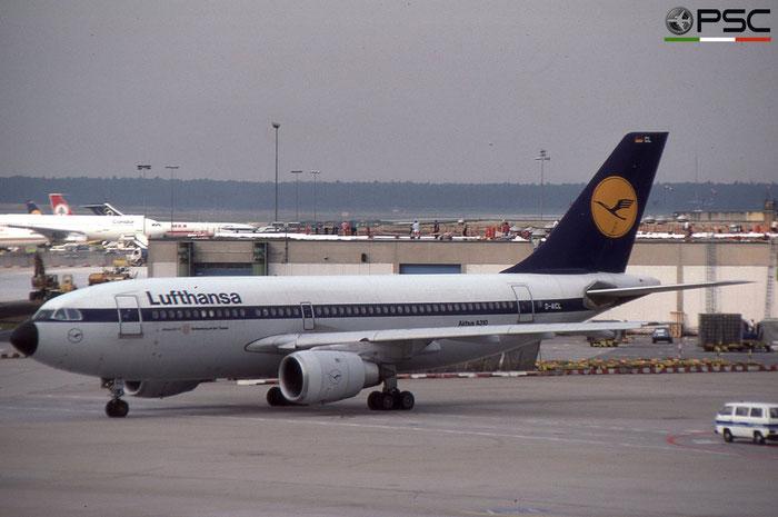 D-AICL A310-203 273 Lufthansa © 2018 courtesy of Marco Ceschi - Piti Spotter Club Verona