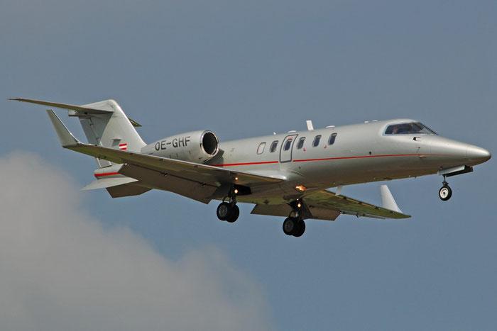 OE-GHF Learjet 40 45-2091 Avcon Jet AG @ Aeroporto di Verona 12.07.2017  © Piti Spotter Club Verona