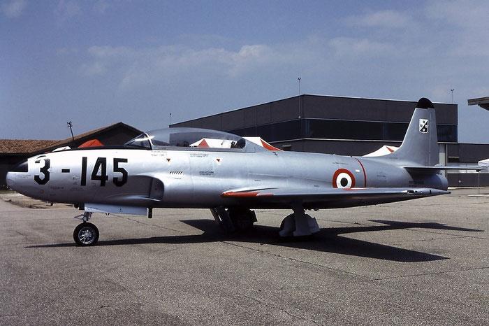 MM51-9145  3-145  T-33A-1-LO  580-6929  Villafranca  @ Aeroporto di Verona   © Piti Spotter Club Verona