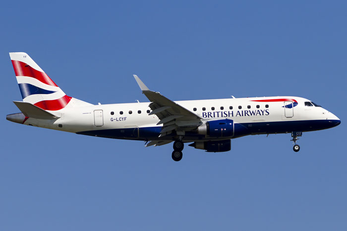 G-LCYF ERJ170STD 17000298 BA CityFlyer @ Venezia Airport 18.06.2016  © Piti Spotter Club Verona