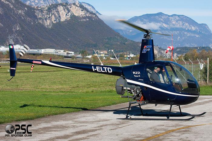 I-ELTD - Robinson R22 Beta II - Private @ Aeroporto di Trento © Piti Spotter Club Verona