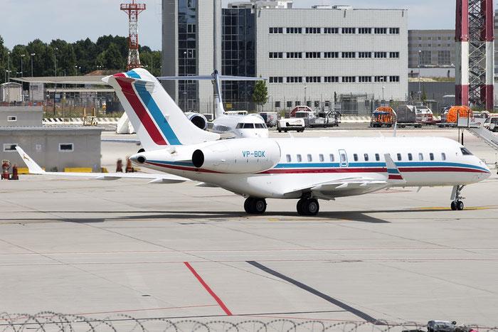VP-BOK Global Express 9101 Falconair Ltd. @ Venezia Airport 21.06.2015 © Piti Spotter Club Verona