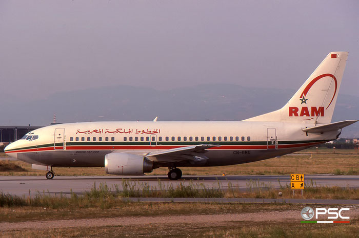 CN-RMU B737-53A 24922/1964 Royal Air Maroc © 2017 courtesy of Marco Ceschi - Piti Spotter Club Verona