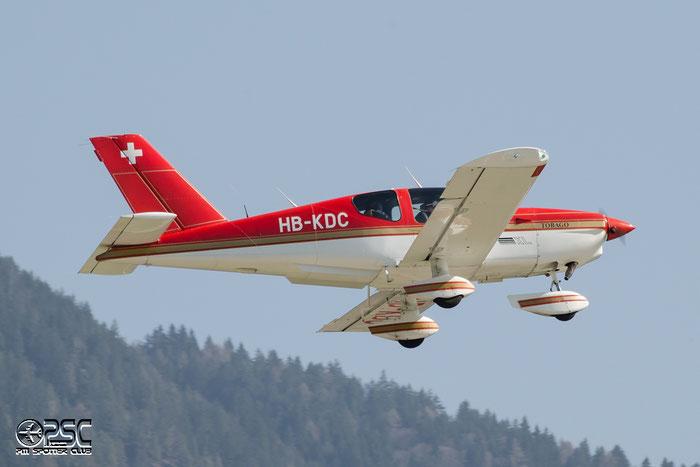 HB-KDC SOCATA Tobago TOBA @ Aeroporto di Bolzano © Piti Spotter Club Verona