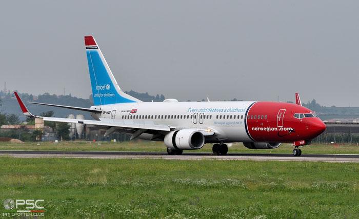 LN-NGE B737-8JP 39050/4196 Norwegian @ Aeroporto di Verona 23.09.2018  © Piti Spotter Club Verona