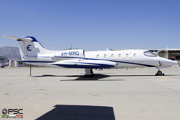 9H-MRQ  Learjet 35A  35A-429  Agrevia Holdings Ltd.  @ Athens 09.2019 © Piti Spotter Club Verona