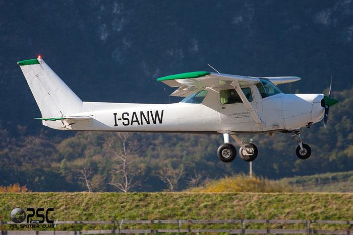 I-SANW CESSNA C152 15285766 - Private @ Aeroporto di Trento © Piti Spotter Club Verona