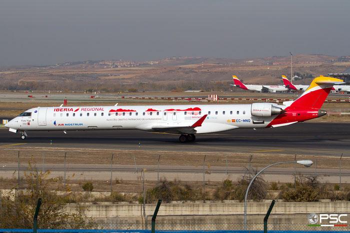 EC-MNQ CRJ1000 19051 Iberia Regional @ Madrid Airport 23.11.2017 © Piti Spotter Club Verona