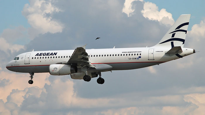 SX-DVW A320-232 3785 Aegean Airlines @ Aeroporto di Verona 03.09.2018  © Piti Spotter Club Verona