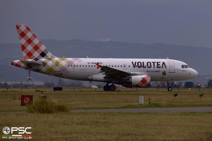 EC-MUU A319-111 2253 Volotea Air @ Aeroporto di Verona 25.08.2018  © Piti Spotter Club Verona
