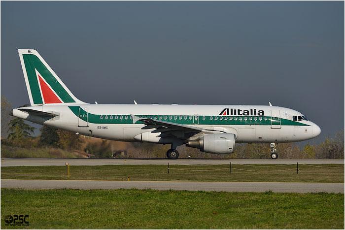 EI-IMC A319-112 2057 Alitalia @ Bologna Airport 06.12.2013 © Piti Spotter Club Verona