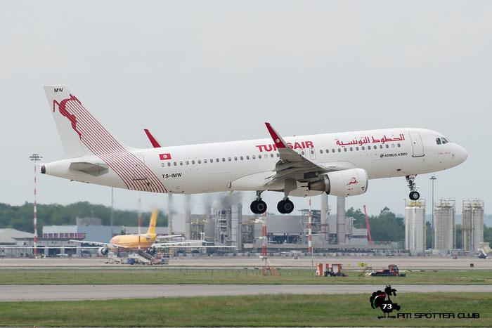 TS-IMW A320-214 6338 Tunisair @ Milano Malpensa Airport 18.05.2016 © Piti Spotter Club Verona
