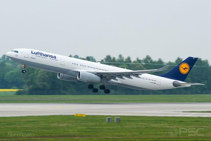 D-AIKG A330-343E 645 Lufthansa @ Munich Airport 15.05.2016 © Piti Spotter Club Verona