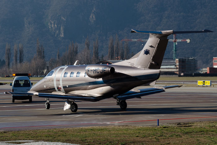 F-HCJE EMB500 50000263 Cie de Phalsbourg @ Aeroporto di Bolzano © Piti Spotter Club Verona