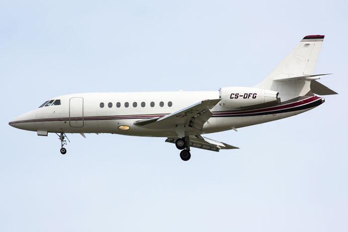 CS-DFG Falcon 2000EX-EASy 044 NetJets Europe @ Venice Airport 02.06.2013 © Piti Spotter Club Verona