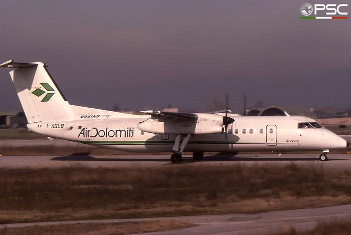 I-ADLB DHC-8-314B 221 Air Dolomiti © 2018 courtesy of Marco Ceschi - Piti Spotter Club Verona