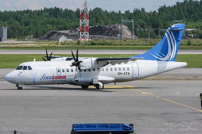 OH-ATA ATR42-500 641 FinnComm Airlines @ Helsinki Airport 2008 © Piti Spotter Club Verona