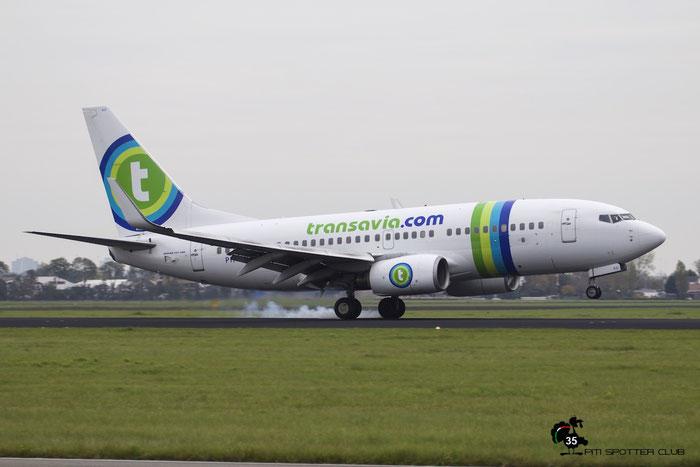 PH-XRD B737-7K2 30659/1329 Transavia Airlines @ Amsterdam Airport 24.10.2015  © Piti Spotter Club Verona