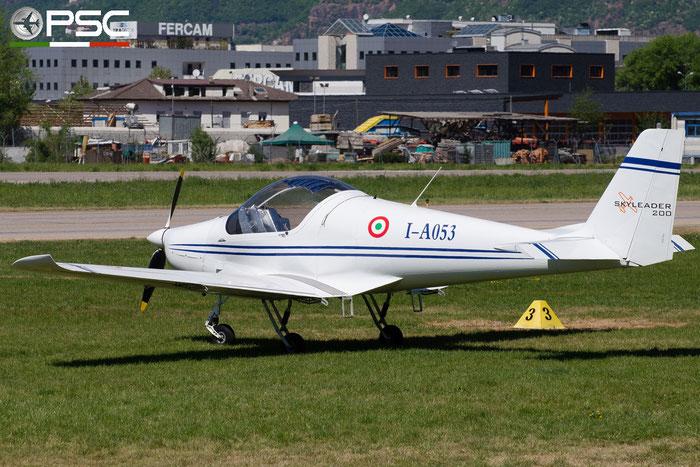 I-A053 - Private Skyleader Skyleader 200 @ Aeroporto di Bolzano © Piti Spotter Club Verona