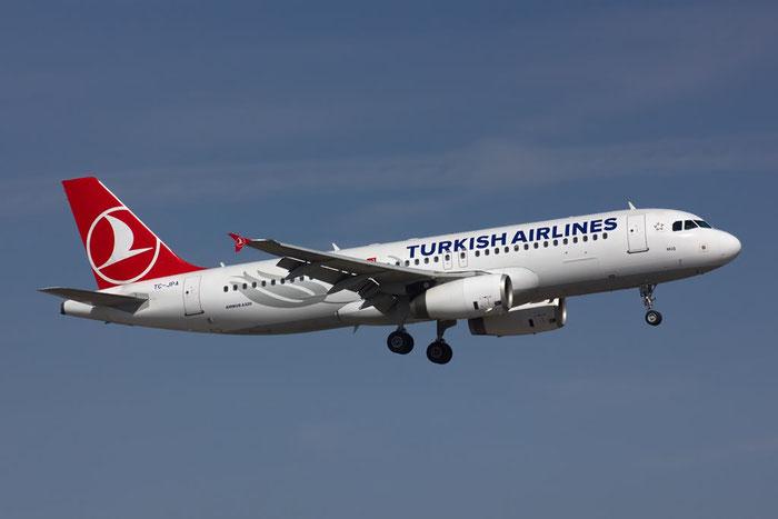 TC-JPA A320-232 2609 Turkish Airlines - THY Türk Hava Yollari @ Bologna Airport 10.03.2012 © Piti Spotter Club Verona