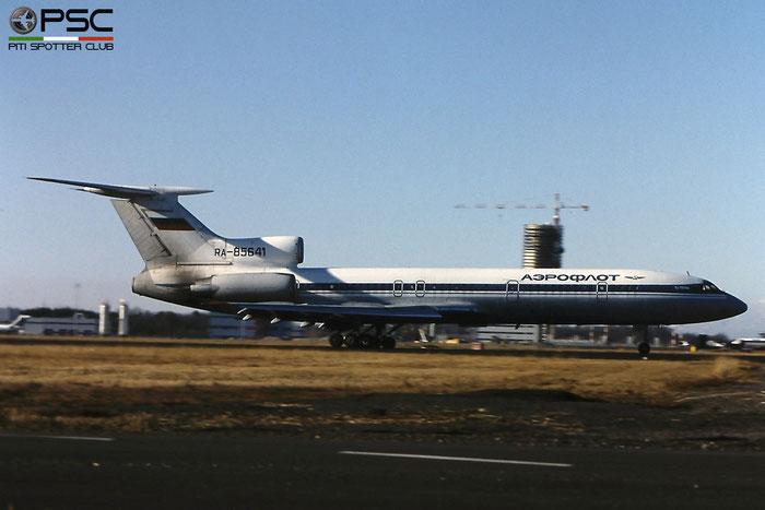 RA-85641 88A773 Tu-154M RA-85641 Aeroflot Rus. Al © 2018 courtesy of Marco Ceschi - Piti Spotter Club Verona