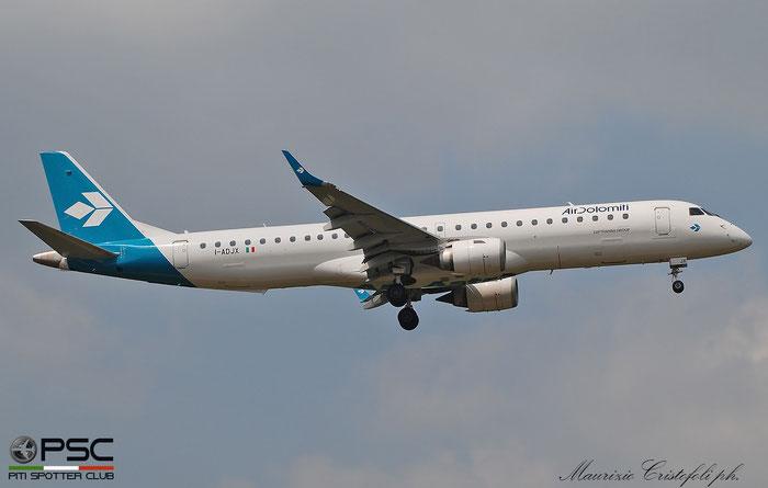 I-ADJX  ERJ195LR  19000305  Air Dolomiti @ Aeroporto di Verona 2020 © Piti Spotter Club Verona