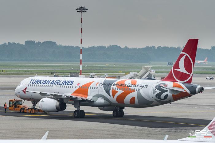 TC-JRO  A321-232  4682  Turkish Airlines - THY Türk Hava Yollari @ Milano Malpensa 2018 © Piti Spotter Club Verona