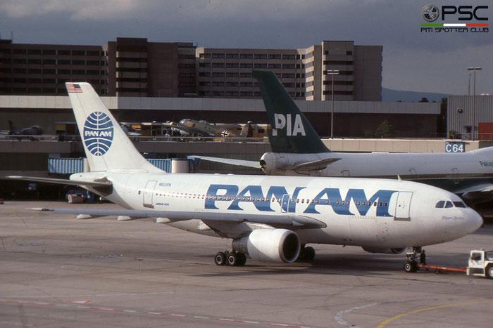 N801PA A310-222 288 Pan Am - Pan American World Airways © 2018 courtesy of Marco Ceschi - Piti Spotter Club Verona