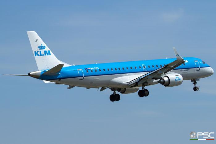 PH-EXA ERJ190STD 19000655 KLM Cityhopper @ Bologna Airport - 17.04.2016  © Piti Spotter Club Verona