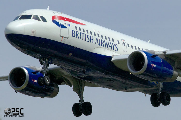 G-EUPZ A319-131 1510 British Airways @ London Heathrow Airport 12.06.2014 © Piti Spotter Club Verona