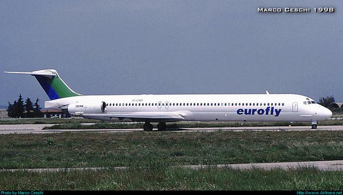 EI-CNR  MD-83  53199/1968  Eurofly  @ Aeroporto di Verona © Piti Spotter Club Verona